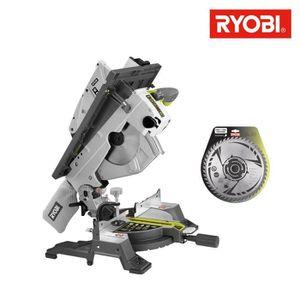 SCIE ÉLECTRIQUE Pack RYOBI scie sur table et onglet électrique 180