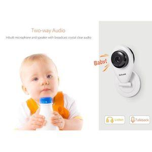 CAMÉRA IP BabyPhone Numérique 720P Camera de Surveillance /