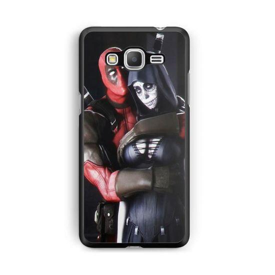 Coque Samsung Galaxy A5 2014 (A500) Deadpool joker comics marvel hero hard case batman REF13227
