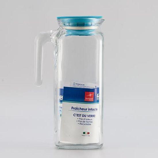 Carafe Bormioli Rocco Kufra avec refroidissement Insert 2.1 L Bleu