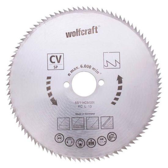 2692000 Wolfcraft 1 ème Lame De Scie CV L = 230 mm T-tige