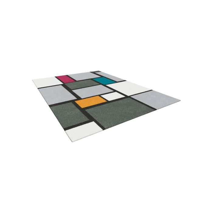 tapis de salon 120x170 multicolore achat vente tapis de salon 120x170 multicolore pas cher. Black Bedroom Furniture Sets. Home Design Ideas