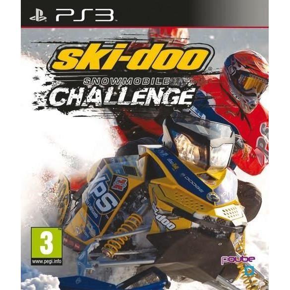 SKI-DOO SNOWMOBILE CHALLENGE / Jeu console PS3