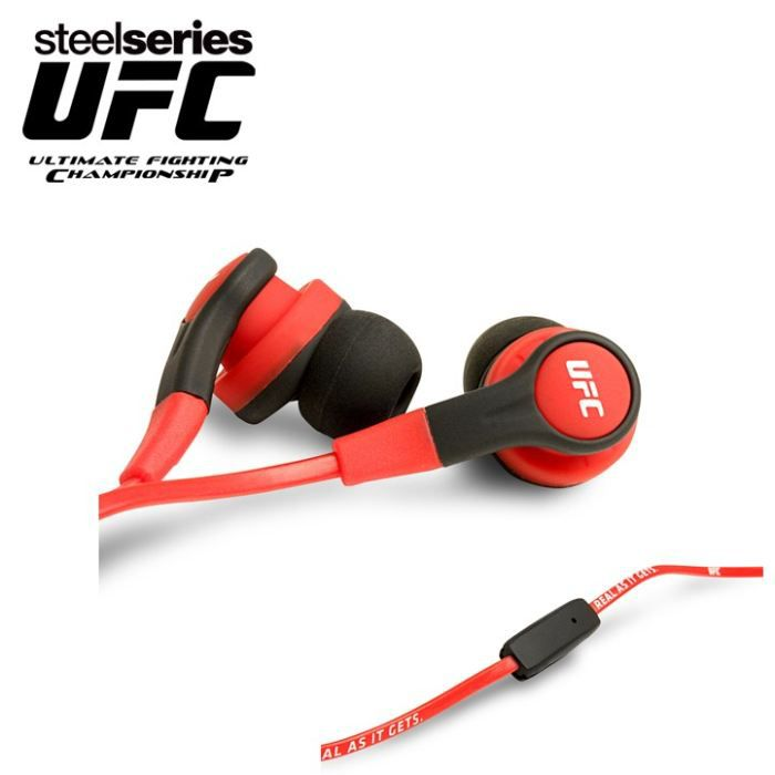 steelseries ufc ed casque intra auriculaire prix pas cher les soldes sur cdiscount cdiscount. Black Bedroom Furniture Sets. Home Design Ideas