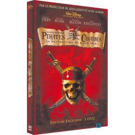 dvd pirates des caraibes la malediction du bl en dvd. Black Bedroom Furniture Sets. Home Design Ideas