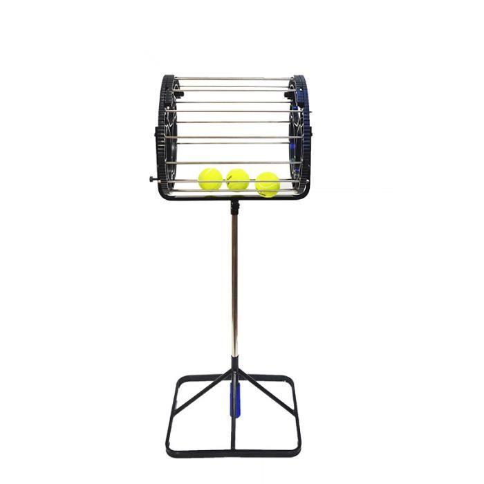 Boule de Picker de boule de Tennis de panier de boules d'entraîneur de Tennis Retriever avec la poignée carrée 80 boules