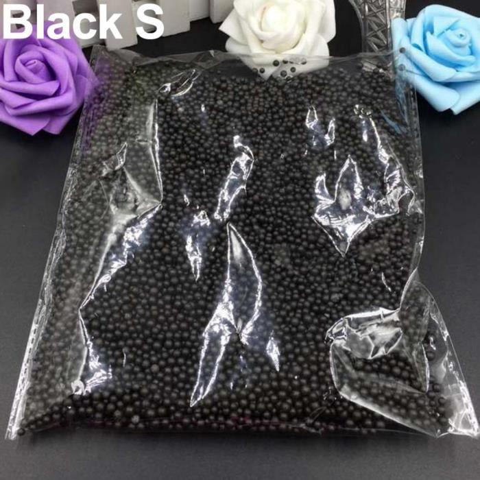 439491 artisanat multicolore assorti remplissage bricolage mini perles en vrac boules décoratives ornement noir s