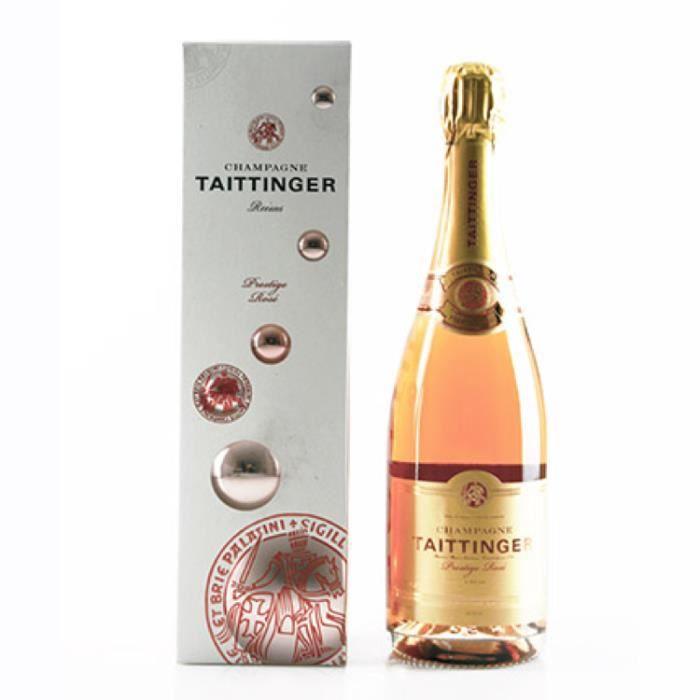 Champagne et Méthode Traditionnelle - Champagne Taittinger Brut Rosé