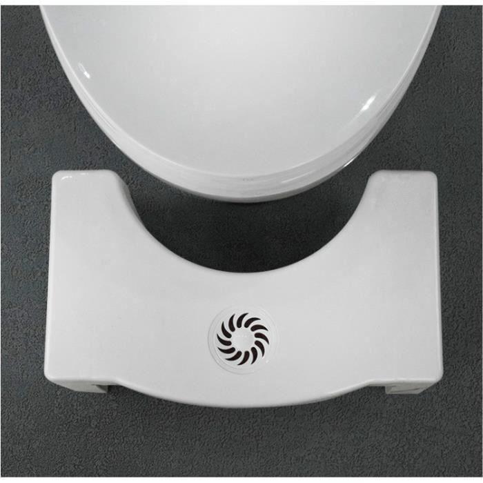Moonmini Marche Pied Antidérapant Tabouret Toilette Enfant Adulte Tabouret Physiologique Salle de Bain WC