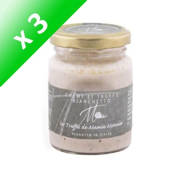 [LOT DE 3] LES TRUFFÉS DE MAMIE MONNIER Crème de parmesan et de truffe bianchetto - 80 g