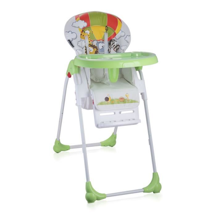 Chaise haute pour bébé OLIVER Vert Lorelli