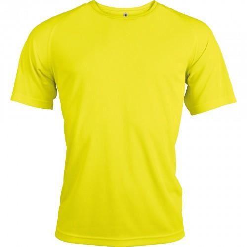 Kariban - T-shirt sport - Homme Jaune fluo