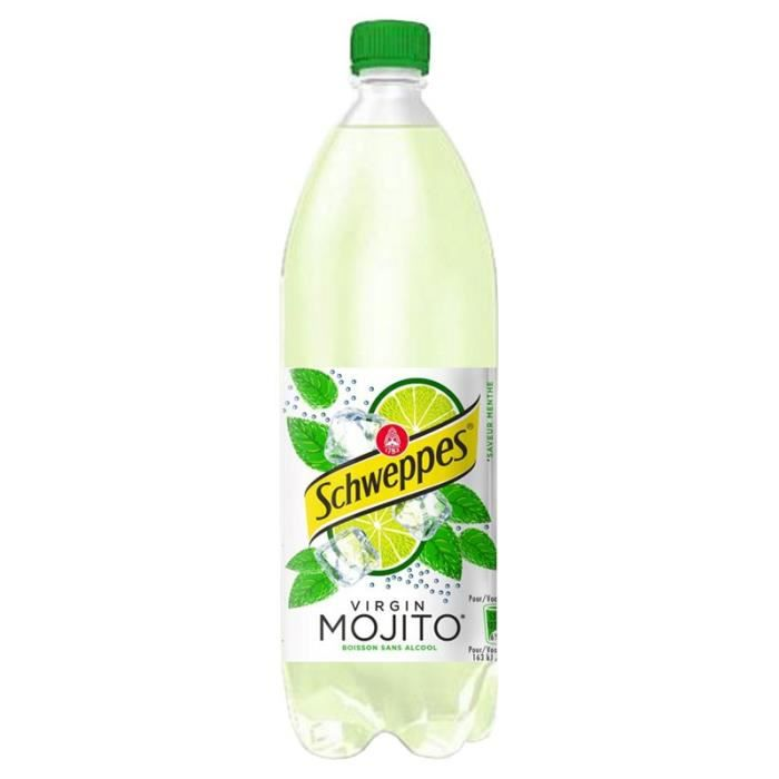 Schweppes Virgin Mojito 1L (pack de 6)