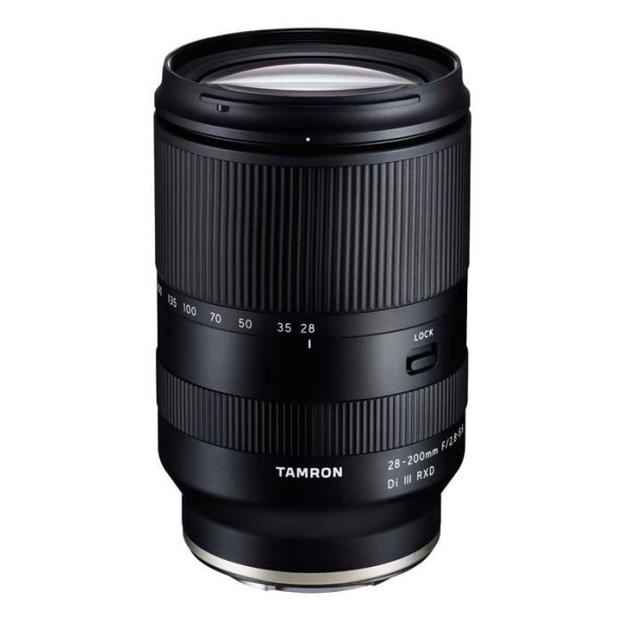 TAMRON Objectif 28-200mm f/2.8-5.6 Di III RXD SONY FE Garanti 5 ans