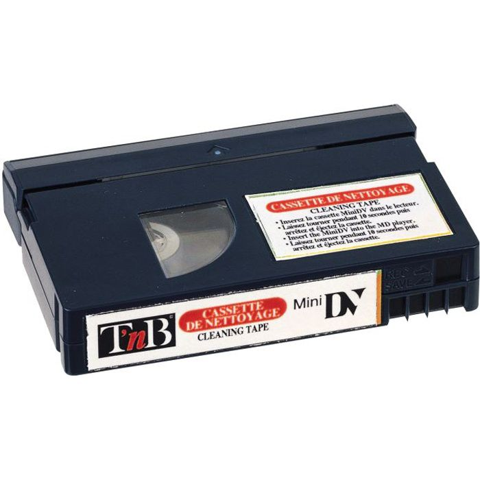 T'nB - NMINIDV100 - Cassette de nettoyage mini DV