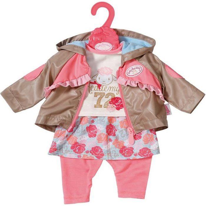 Accessoire pour poupée Zapf Creation 701973-A Baby Annabell Active Jeans rose 43 cm