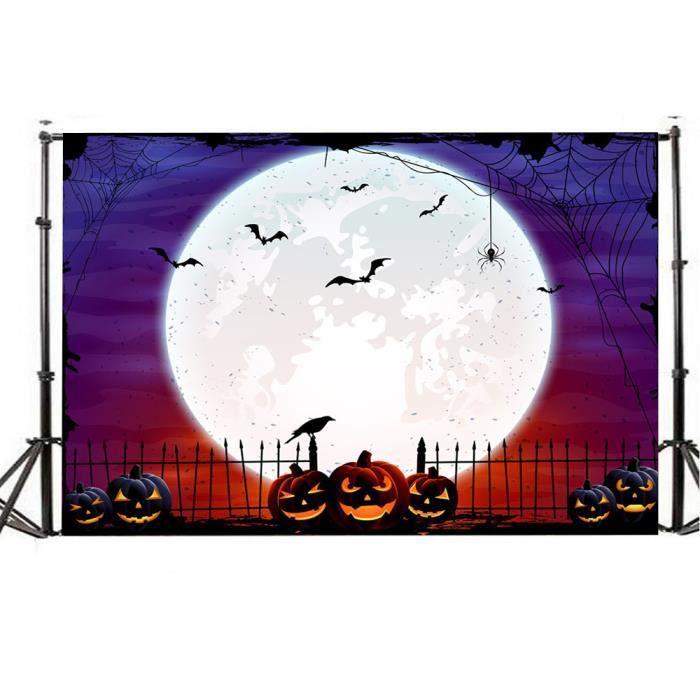 FOND DE STUDIO Halloween lanterne fond Toiles de fond 5x3FT Photo