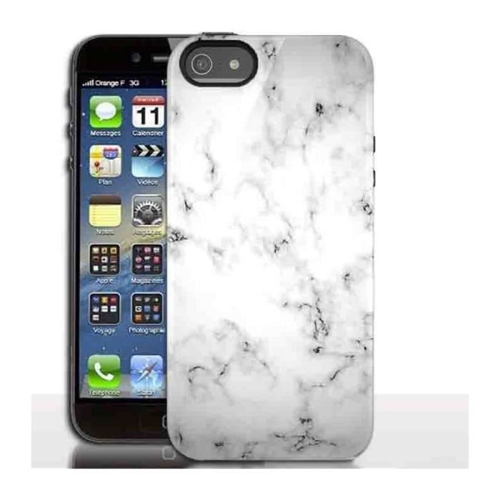 Coque iphone 5 marbre