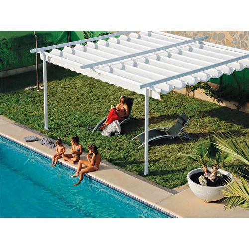 pergola aluminium sur mesure zen achat vente pergola. Black Bedroom Furniture Sets. Home Design Ideas