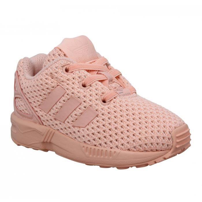 adidas zx flux semelle rose