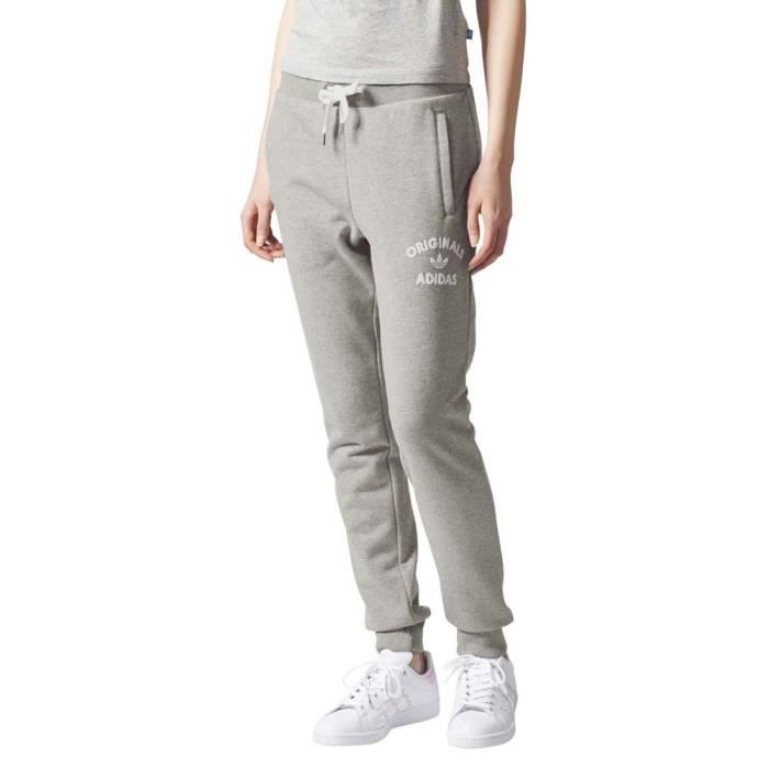 énorme réduction e60ad 138b0 Vêtements femme Pantalons Adidas Originals Regular Cuff Track Pants
