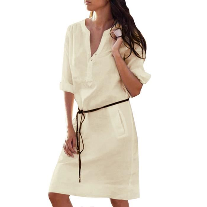 Robe Tunique Femme Ete Promo Code For B2584 396d8