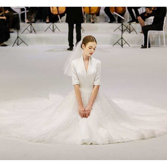 Robe de mariée Haute Couture Traîne avec
