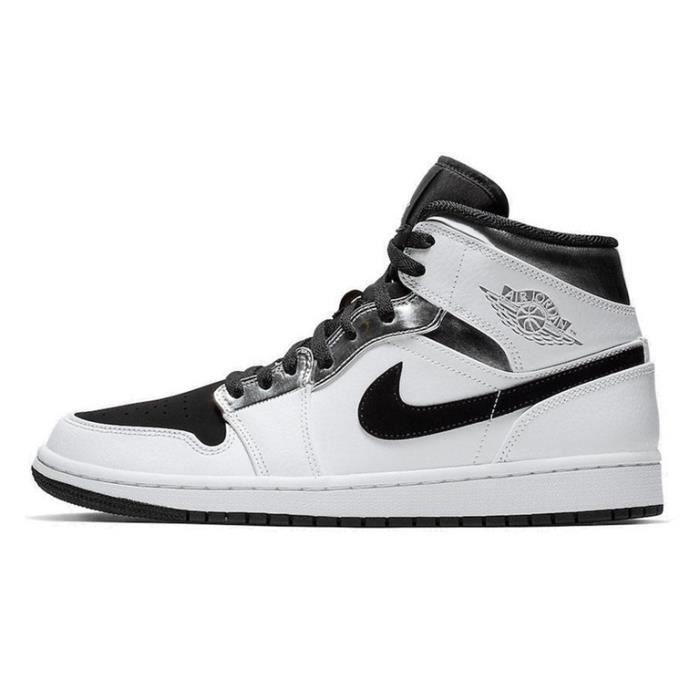 Baskets Air Jordan 1 Mid Chaussures de Basket pour Homme Femme ...