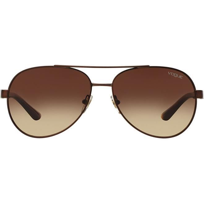Lunettes de Soleil VOGUE VO3997S 934-13 BRUSHED BROWN T:58