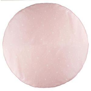 TAPIS Atmosphera - Tapis pour tipi rose D 120 cm Rose