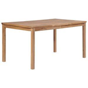 TABLE À MANGER SEULE YAJIASHENG Table à d?ner d'extérieur 150x90x77 cm