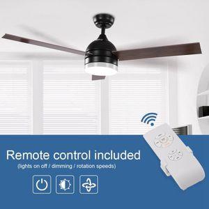 VENTILATEUR DE PLAFOND BELLE TECH Ventilateur de plafond à lames avec LED