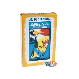 CARTES DE JEU Jeu des 7 Familles Les Fables de la Fontaine - Jeu