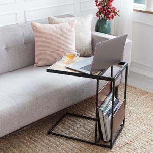 BOUT DE CANAPÉ Table d'Appoint Moderne AVIGNON- Bout de Canapé Sa