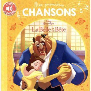 LIVRE 0-3 ANS ÉVEIL Livre - la Belle et la Bête ; mes premières chanso