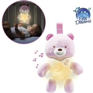 MOBILE CHICCO Veilleuse Petit Ourson Rose
