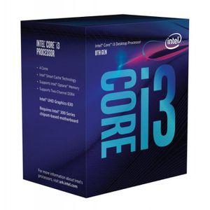 PROCESSEUR intel     intel core i3-8300 3,70ghz boxed cpu noi