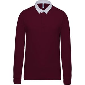 POLO Polo rugby homme manches longues
