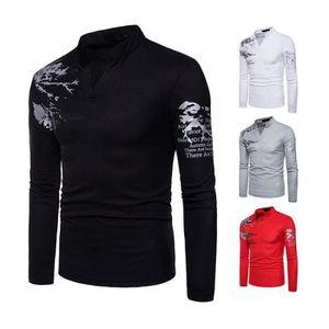 T-SHIRT Tee Shirt Homme Imprimée Mode Marque T Shirt Henle