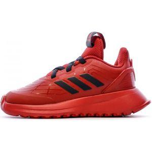 Basket adidas rouge - Cdiscount