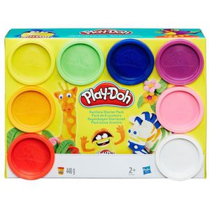 JEU DE PÂTE À MODELER Play-Doh Hasbro A7923EU6 Lot de 8 pâtes à Modeler,