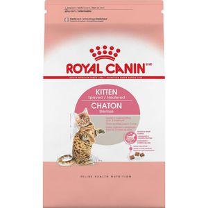 CROQUETTES Royal Canin Kitten féline Santé Nutrition Spayed -