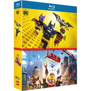 BLU-RAY DESSIN ANIMÉ Lego Batman + Lego Movie - Coffret Blu-ray