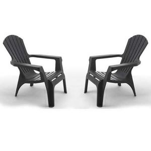 fauteuil bas jardin achat vente pas cher. Black Bedroom Furniture Sets. Home Design Ideas