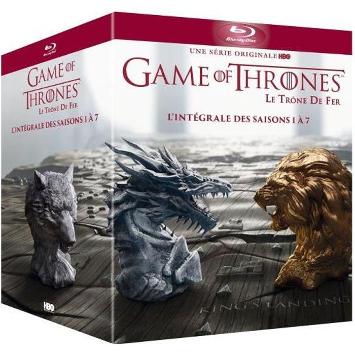 DVD SÉRIE Coffret Blu-ray Game of Thrones, saisons 1 à 7