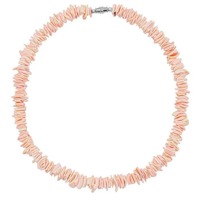 Collier HXQWR vsco puka shell collier ras du cou, blanc hawaïen palourde puce surfeur collier pour et tendance été plage shell colli