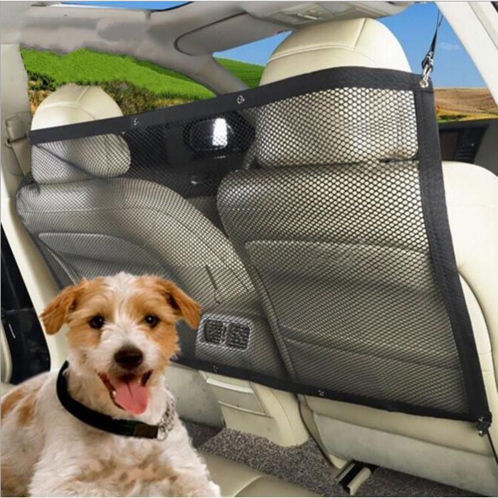 Filet de sécurité Pet Barrier Banquette arrière de Voyage isolement barrière chien barrière Réseau Barrière de sécurité 115x62 cm