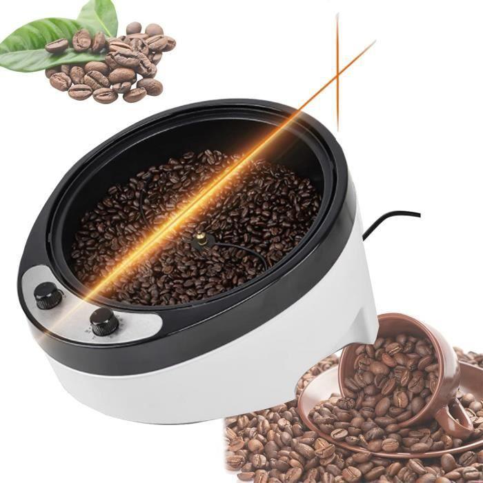 BLLJQ Torréfacteur à Café, Machine à Torréfier à Café Électrique avec Plan Incliné Grande Capacité, 0-240 ℃ Machine de Cuisson po227