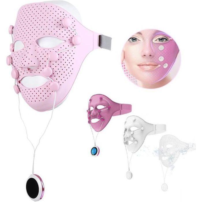 Électrique EMS Massager pour masque pour le visage Vibration Beauté Masseur Anti-rides Aimant Massage Masque Facial SPA