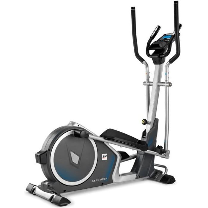 BH Fitness EASYSTEP DUAL G2518W Vélo elliptique - Systéme inertiel 14 Kg - Foulée 38 cm - i.Concept Ready